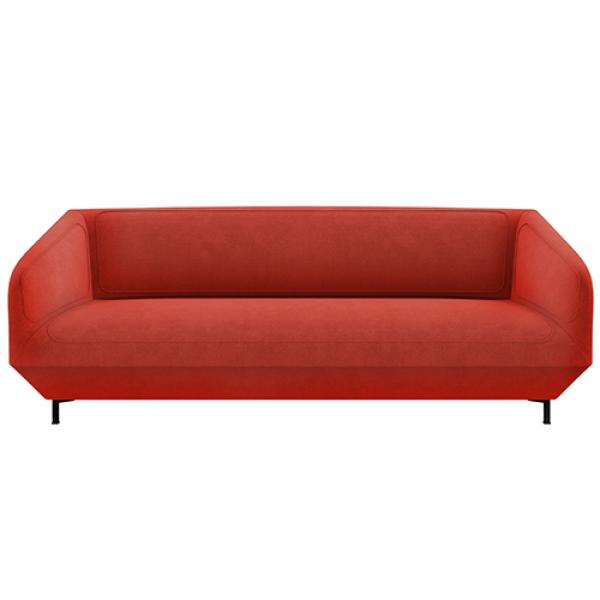 Dressed sofa