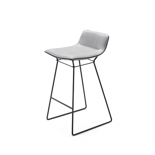 Amelie kitchen stool low