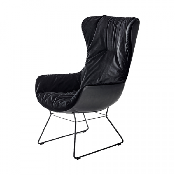Leya cocktail wingback chair