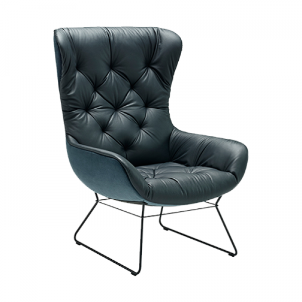 Leya wingback chair