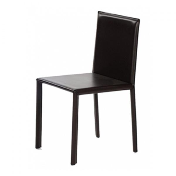 Slim Leather Chair