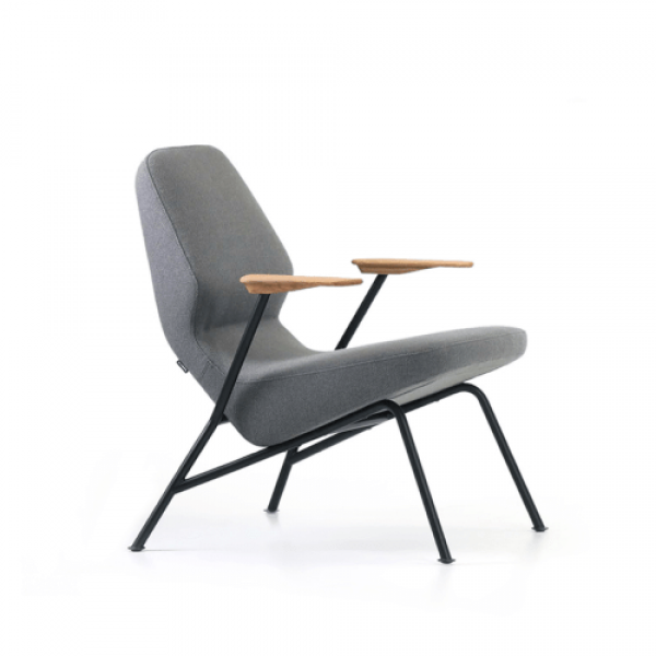 Oblique Metal Easy Chair
