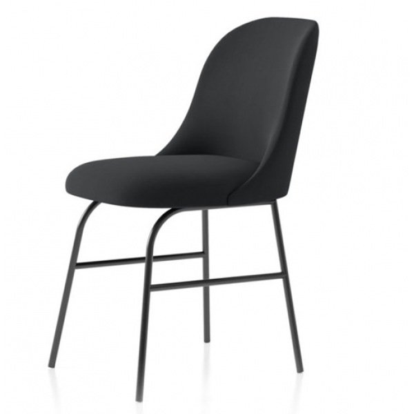 Aleta Chair with metal base