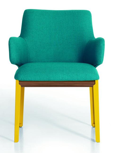 Hug small side chair subtilitas for Small side chair
